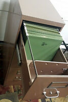 Excellent 3 Drawer Letter Sized Cole Filing Cabinet SEE VIDEO