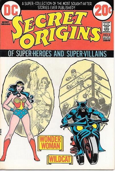 Secret Origins Comic Book #3, DC Comics 1973 VERY FINE+