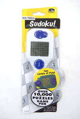 Stylus Digital Mini Puzzle Sudoku Game Pen (White) Mini Digital Stylus