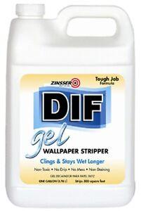 zinsser 2431 dif 1 gallon gel wallpaper remover ebay