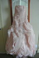 Blush Vera Wang wedding dress for sale