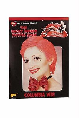THE ROCKY HORROR SHOW COLUMBIA RED SHORT WIG COSTUME ACCESSORY FM55027](Rocky Horror Show Columbia)
