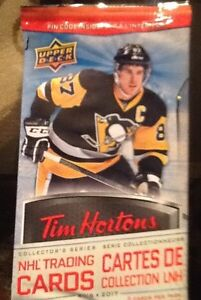 2016/17 UD Tim Hortons Hockey Cards (42 card lot)