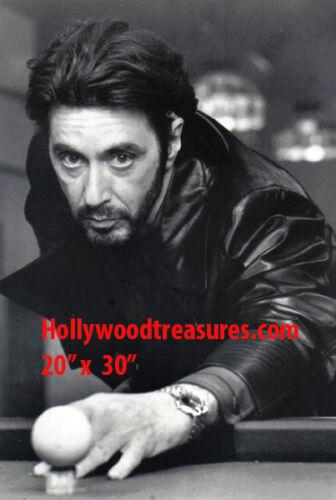 """Al Pacino~Shooting Pool~Pool Hall~Billiards~Playing Pool~Poster~20"""" x 30"""" Photo"""