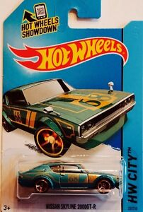 HOT WHEELS NISSAN SKYLINE 2000 GT-R