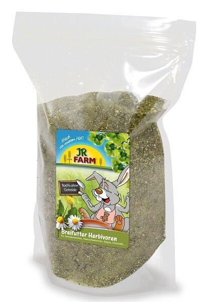 JR Farm Breifutter Herbivoren 200g (€ 1,50/100g) Päppelfutter Päppeln Kaninchen