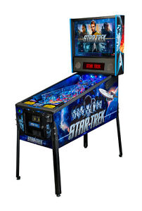 NEW STERN STAR TREK PINBALL MACHINE LIVE LONG AND PROSPER