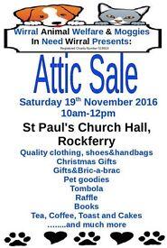 Attic Sale/Christmas Fair