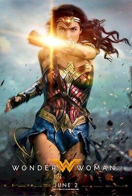 Gal Gadot Wonder Woman movie poster replica fridge magnet - new!