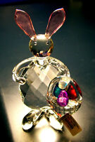 New with tag 5 3/4 inch Crystal Bunny Rabbit