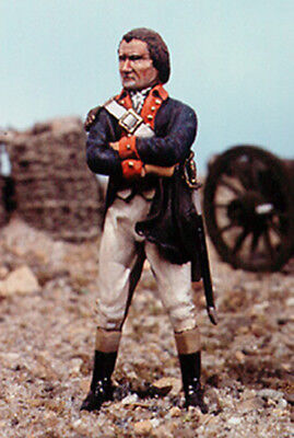 Valiant Miniatures Kit# 9778 - Continental Artillery Officer - 54mm for sale  Madison