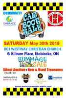 Community Bazaar May 30th - Westway Car Boot Sale Etobicoke