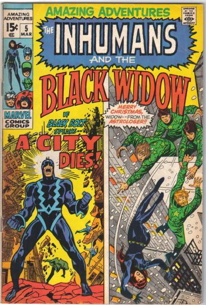 Amazing Adventures Comic Book #5 Marvel Comics 1971 FINE