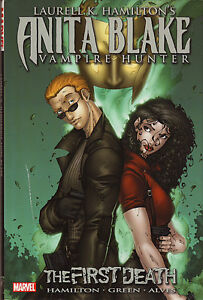ANITA BLAKE VAMPIRE HUNTER GRAPHIC NOVEL COMIC BOOKS