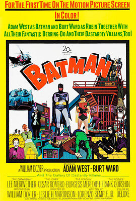 Batman - 1966 - Movie Poster - 1966 Batman Movie Poster