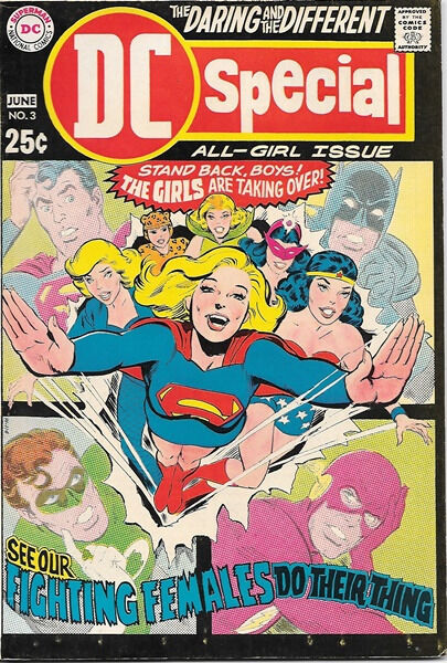 DC Special Comic Book #3, All Girl Issue 1969 VERY FINE