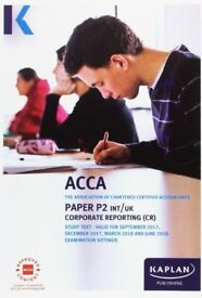 ACCA P2 Corporate Reporting - Kaplan Study Text