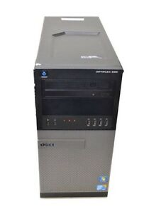 Dell Tower PC Intel Core i7 @ 3.4GHz 8Gb Ram 250Gb SSD Windows 10 Devon Park Port Adelaide Area Preview