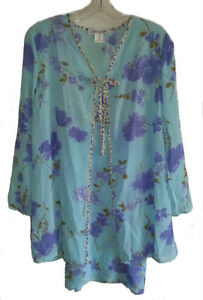 Chemise Nightgown & Robe Lingerie Set - NEW