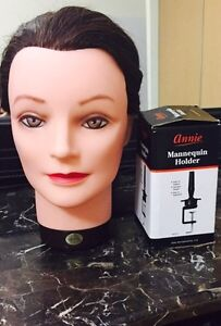 Mannequien head and holder  both for $80