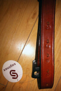 Stirrup Leathers Chestnut/ Brown Extra Long