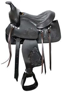 """10"""" 12"""" 13"""" inch Youth Pony Western Saddle Leather New $297 DEAL London Ontario image 4"""