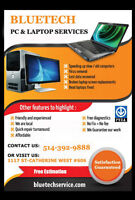NEED A SOLUTION FOR ALL YOUR COMPUTER PROBLEMS? CALL BLUETECH!