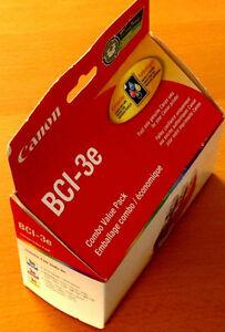 Canon BCI-3e Colour Ink Jet Tanks, Combo Pack - $10 Gatineau Ottawa / Gatineau Area image 3