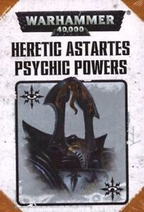 Warhammer 40k Heretic Astartes Psychic Powers (7th Edition)