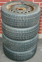 4 Avalanche Extreme 205/55R16 with Steel Wheels