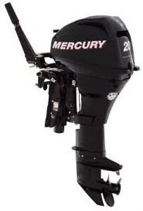 New Mercury 20 HP outboards