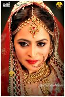 South Asian Mobile Bridal Makeup  Artist and Hairstylist
