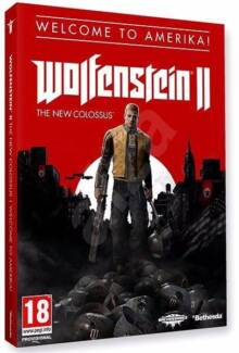 BRAND NEW Wolfenstein II: The New Colossus - Welcome to Amerika