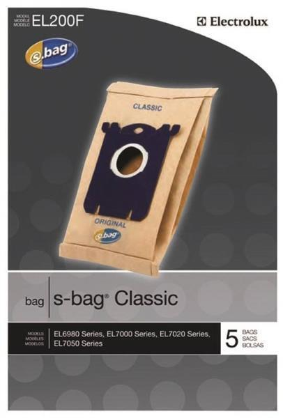 Electrolux S-bag Classic Canister Vacuum Cleaner Bags 20 Pac