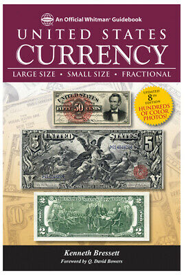 New United States US Currency Guide Book For Large Small Fractional Paper Money