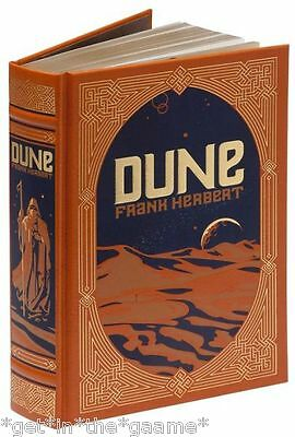 LEATHER BOUND Dune by Frank Herbert - Classic Sci-Fi Novel - BRAND NEW Sealed