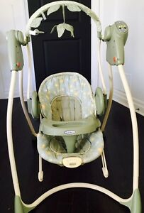 Baby Einstein jumper and Graco removable swing