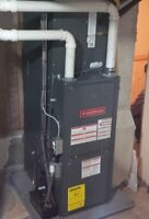 Humidifier, Furnace, Fireplace, Water Heater,  Stoves, Gas pipe