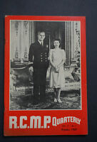 1951 Extremely Rare RCMP - First Royal Visit QE II & Phillip