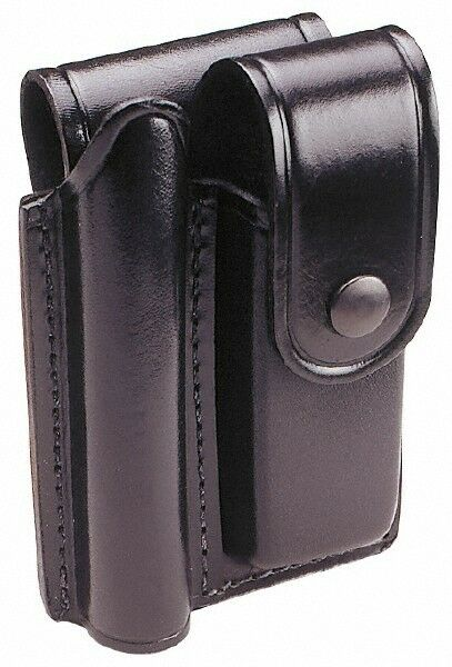 Mag-Lite Leather Mini/Pocket Flashlight Belt Holster Black, Compatible with M...