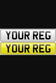 Number plates free postage or pick up