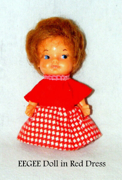 "Buy Used Cars Toronto >> Vintage – 1966 EEGEE Doll, 4"" miniature, excellent ..."