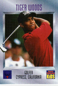 Tiger Woods SIFK  Rookie
