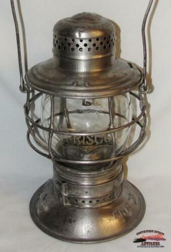 Frisco-St. Louis San Francisco Railway 1909 Handlan-Buck CE Bell-Bottom Lantern