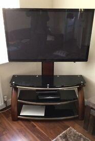 Panasonic 50 inch Plasma Flatscreen TV with Premium TV Table Stand