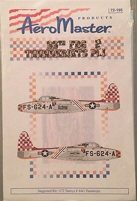 AeroMaster 1:72 86th FBG Thunderbolts Pt.1 72-195