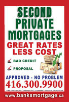 2nd mortgage gta second mortgages bad credit ok-cal 416-300-9900