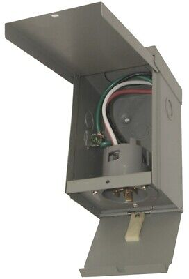 Egspi50 50a Power Inlet Box W Cover