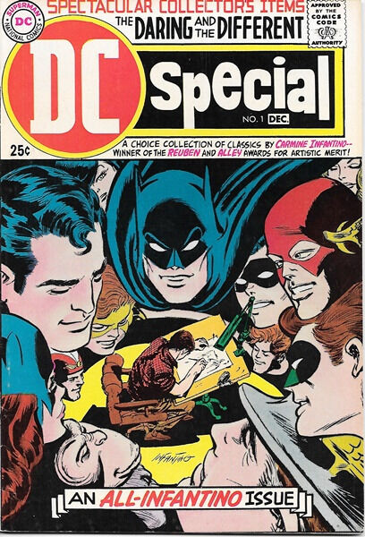 DC Special Comic Book #1, All Infantino Issue 1968 VERY FINE