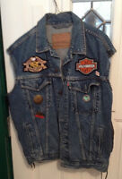Mans Motorcycle vest ((( new price )))